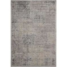 Add a pop of pattern to your living room or study with this artfully loomed rug, showcasing a distressed Persian-inspired pattern in shades of grey.  Product: RugConstruction Material: Polyester, acrylic and latexColour: GreyFeatures: Power-loomedNon-slip backing Pile Height: 0.6 cm Dimensions: 107 cm x 168 cmNote: Please be aware that actual colours may vary from those shown on your screen. Accent rugs may also not show the entire pattern that the corresponding area rugs have.Cleaning and…