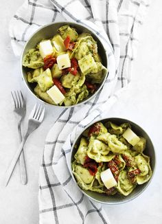 Avocado Pesto Tortel