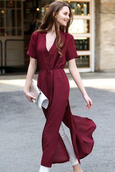 Rezultat slika za burgundi fashion