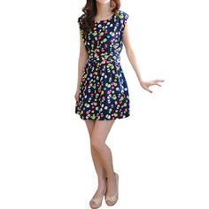 Allegra K Ladies Sleeveless All Over Dots Waistsash Design Unlined Casual Dress Allegra K http://www.amazon.com/dp/B00M43BKQY/ref=cm_sw_r_pi_dp_XQRxub14HP30T