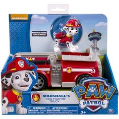 Paw Patrol Marshall's Fire Truck $12.97 with free shipping!