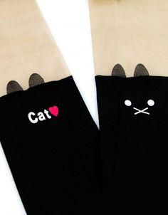 Rajstopy Kocie Love #paniKOTA #koty #kociara  #rajstopy #podkolanówki #ciekawestylizacje