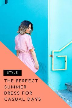 Looking for a casual and comfortable summer dress for everyday wear? Here is the perfect go to sundress for women! Mom Outfits, Summer Outfits, Casual Outfits, Summer Dresses, Trendy Dresses, Short Dresses, Casual Dresses, Formal Chic, Mother Daughter Matching Outfits
