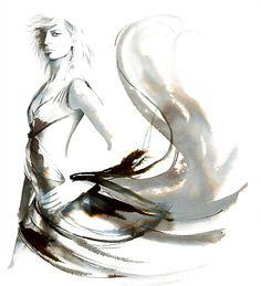 Style sample illustration by Katharine Asher
