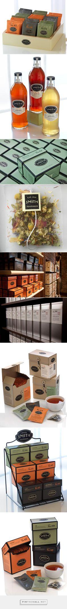 Steven Smith Teamaker packaging designed by Sandstrom Partners