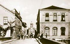 """FOTOS ANTIGAS DE OVAR 009 - Rua Elias Garcia - Arquivo do jornal """"JOÃO SEMANA"""" (fundado em 1 JAN. 1914) http://artigosjornaljoaosemana.blogspot.pt/"""