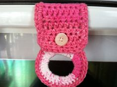 Crochet Tea Towel holders-great hostess gift- with tutorial - CROCHET