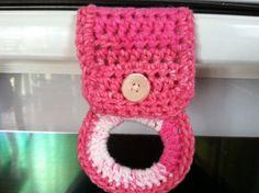 Crochet Tea Towel holders-great hostess gift- with tutorial - CROCHET