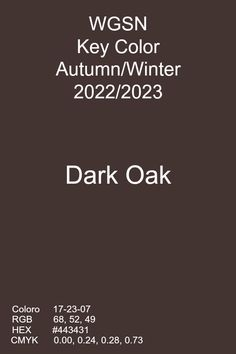 Dark Oak #color #trends #aw22 Scenery Photography, Graphic Design Trends, Shoe Art, Chocolate Truffles, Mellow Yellow, Pantone Color, Textures Patterns, Color Trends, Oak Color