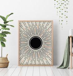 Abstract Geometric Art, Abstract Wall Art, Wall Art Sets, Wall Art Prints, Rise Art, Black And White Wall Art, White Prints, Mid Century Modern Art, Minimalist Poster