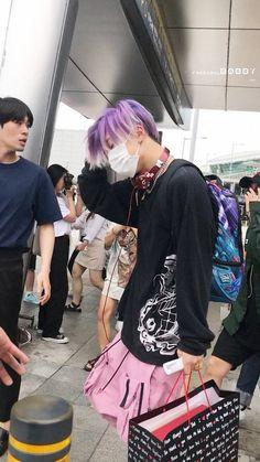 that's IKON — ikon-official: © FreesoulBobby Bobby, Ikon Kpop, Hip Hop, Men Hair Color, Kim Ji Won, Airport Style, Airport Fashion, Korean Bands, Kim Hanbin
