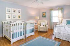 Twin nursery. Photo by Beau Kester Liapela.com