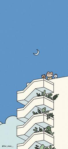 Pop Art Wallpaper, Drawing Wallpaper, Cute Anime Wallpaper, Wallpaper Backgrounds, Cute Simple Wallpapers, Cute Cartoon Wallpapers, Wallpaper Iphone Disney, Cellphone Wallpaper, Aesthetic Iphone Wallpaper