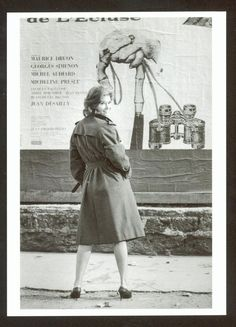 ANTONELLA LUALDI - PARIS STUDIO BOULOGNE - 1960  - ORIG. ANSICHTSKARTE
