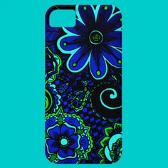 Ocean Jewel Box Floral iPhone 5 Cases