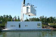 Floating foundation - Amphibious Housing - EPS foam (expanded polystyrene)