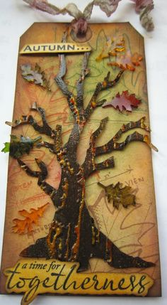 Suzan VonEssen: shrink plastic leaves http://gettinginkywithit.blogspot.com/2012/10/cc2-challenge-25.html#