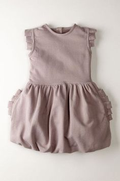 DIY for a cute little girl's dress