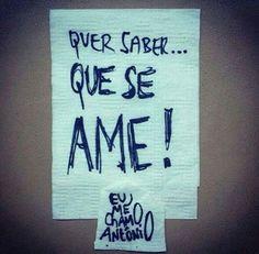 Que se ame! ;)