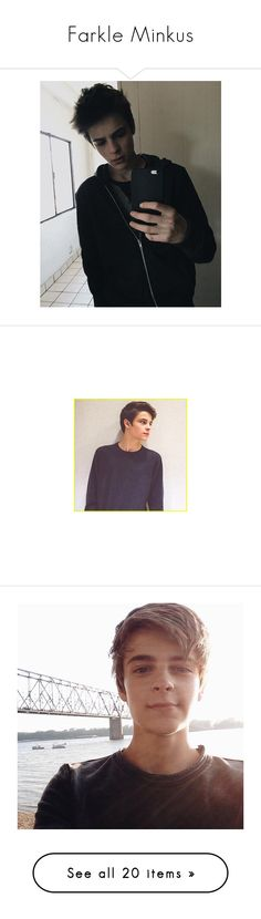 """""""Farkle Minkus"""" by ringpower ❤ liked on Polyvore featuring corey fogelmanis and celebrities"""