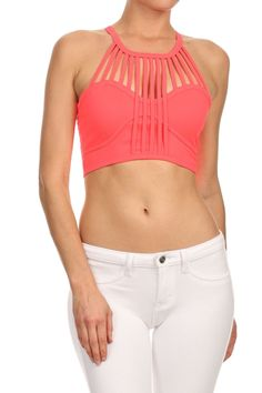 88cf0fb0ea Bralette Cropped Tank Top