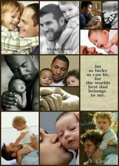 Best Dad Collage by Judy Waits