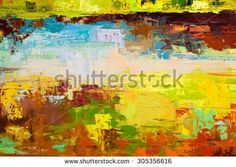 Texture  https://www.shutterstock.com/image-illustration/abstract-art-background-oil-painting-on-305356616  Abstract art background. Oil painting on canvas. Brown, green, blue  and yellow texture. Fragment of artwork. Spots of oil paint. Brushstrokes of paint. Modern art. Contemporary art.