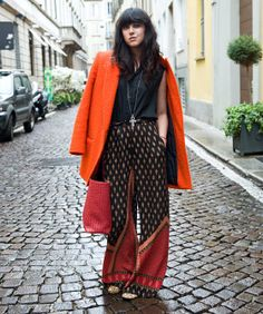 10 Extra-Chic Milan Street-Style Snaps    By Katie Hintz-Zambrano, Photographed by Andrea Wyner for Refinery29