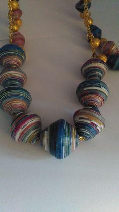 Arabesque paper beads!