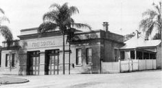 Fortitude Valley Fire Station at the corner of Chester and Harcourt Streets,Fortitude Valley in Queensland in 1905.   🌹