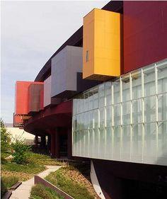 Quai Branly Museum in Paris, France  by Jean Nouvel