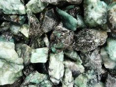 Cabbing 2 Pounds of Mali Garnet Rough Tumble Rocks Reiki Wicca Wrapping