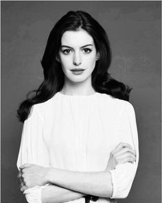 Anne Hathaway- Beautiful actress and great in every role she does!