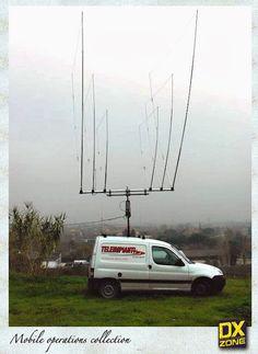 ham radio Mobile Delta Loop antenna