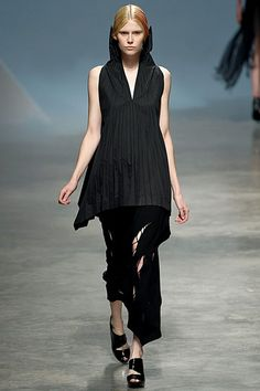 Issey Miyake ~Folds down the front of the shirt~RCMG~