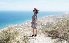 Es war sicherlich nicht der letzte Besuch von Santorin für Carina © Carina Dieringer Short Sleeve Dresses, Dresses With Sleeves, Long Sleeve, Carina, Kirchen, Fashion, Pictures, Nice Asses, Moda