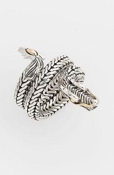 John Hardy 'Naga' Coil Ring available at #Nordstrom
