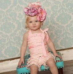 Vintage Toddler Outfit For Girls