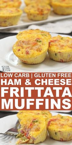 Tasty ham and cheese frittata muffins recipe. Its a perfect way to use up leftover Jamon and Queso de Bolo after a traditional Filipino Christmas dinner. Frittata Muffins, Pizza Muffins, Mini Frittata, Cheese Muffins, Egg Muffins, Best Frittata Recipe, Frittata Recipes, Easy Frittata Muffin Recipe, Muffin Pan Recipes