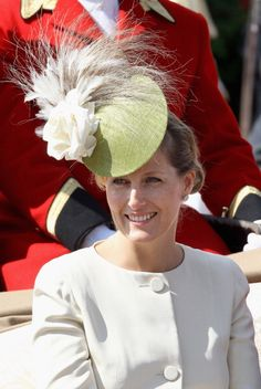 Sophie, Countess of Wessex, Royal Order of the Garter, June 13, 2011 (but the hat is a re-show from several years before)