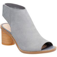 1b093232d Clarks Women s Glacier Charm Ankle Strap Sandal Grey Blue Nubuck Size 8 M