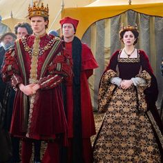 Tudor Fashion, Reign Fashion, Medieval Tv Shows, The White Queen Starz, Medieval Princess, Renaissance Dresses, Italian Renaissance, The White Princess, Catherine Of Aragon