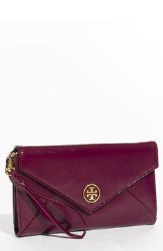 I like a lot of what Tory Burch creates, this 'Robinson' Envelope Wristlet included