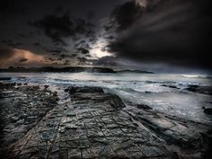 Storm By The Petrified Forest, Catlins