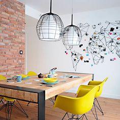 """Tenéis nuevo post en el blog ..la casa de hoy estoy segura de que os va a encantar (foto vía widawscy.pl) link en perfil ⬆️ #decoration #homedesign…"""