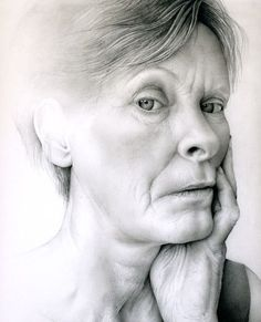 Pencil drawings by Cath Riley