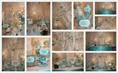 "2012 is a special year for a company that exemplifies ""timeless"" Figured it out? Tiffany & Co. Christmas Party Themes, Holiday Themes, Christmas Fun, Tiffany & Co., Tiffany Party, Tiffany Blue Weddings, Cocktails For Parties, Blue Party, Rock"