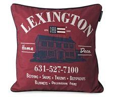 Lexington pude - House, vinrød