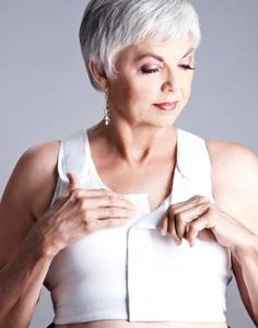 Post mastectomy clothing including mastectomy bras, breast forms, post mastectomy recovery wear, swimsuits and more to help breast cancer survivors before, during and after treatment.