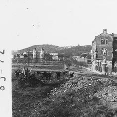 Hospital de Sant Pau (Bcn, 1912)   Art: Fotografies Antigues Biblioteca de Catalunya